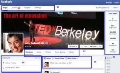 Нова визия на timeline за Facebook страници