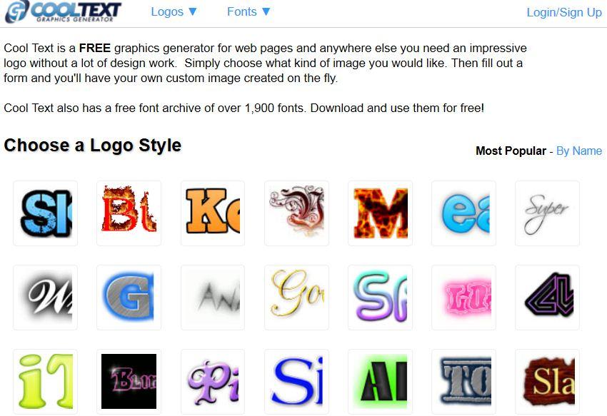 Ценни онлайн инструмента за редакция на изображения - Cooltext