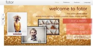 Ценни онлайн инструмента за редакция на изображения - Fotor