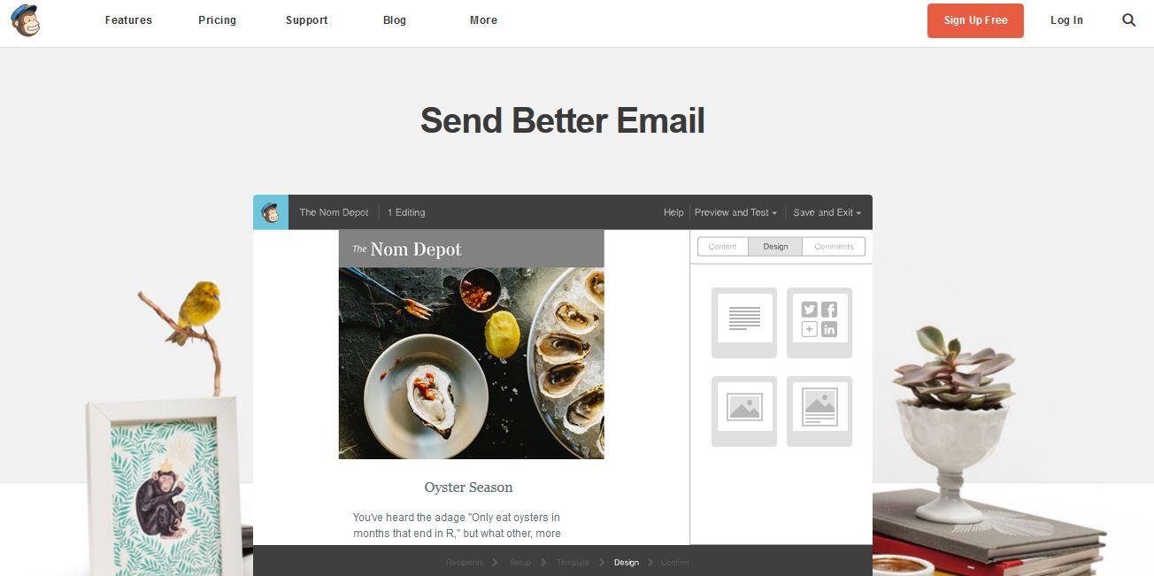 E-mail кампании - изпращане и проследяване - Mailchimp