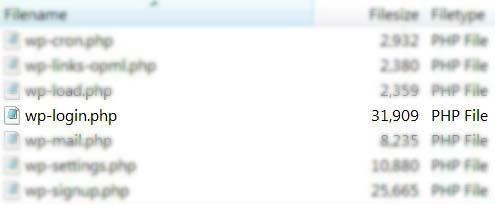 Как да преименуваме wp-login.php?