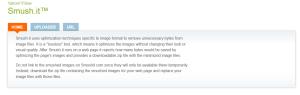 Yahoo-Smush.it за оптимизация на снимки и изображения за SEO
