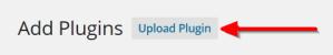 Инсталиране на WordPress плъгин чрез upload