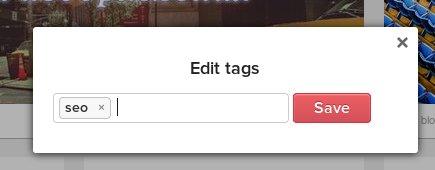 Добавете най-точните тагове за всеки ваш линк в Pocket. Така ще можете да го откриете по-лесно.