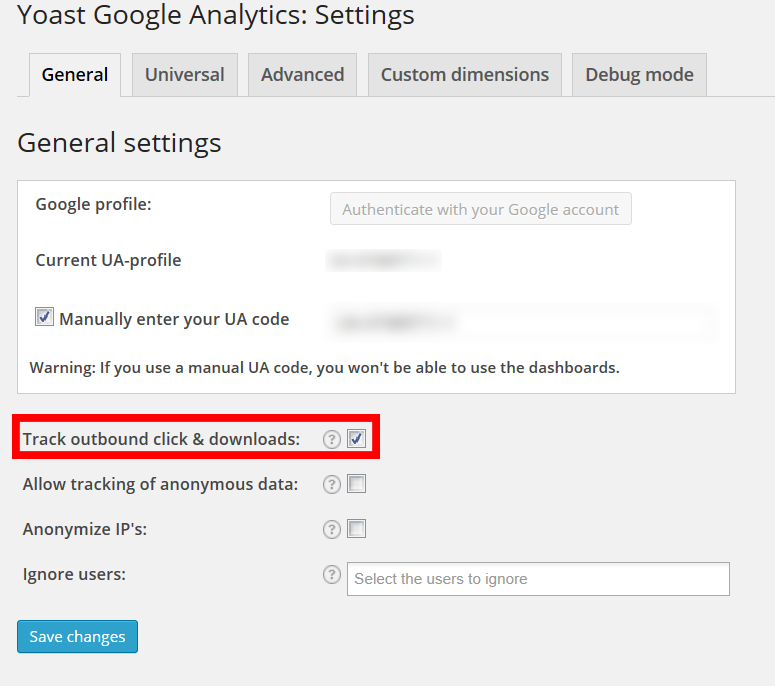 Google Analytics Time Tracking чрез плъгина на Yoast за WordPress