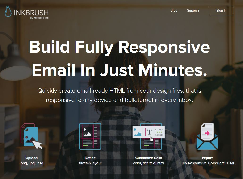 Създайте HTML e-mail newsletter чрез Inkbrush