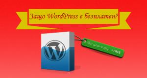 Защо за употребата на WordPress не се изисква заплащане? Дали това означава, че CMS-ът е изцяло безплатен?