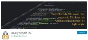 Лесна миграция към SSL за WordPress чрез плъгина (разширението) Really Simple SSL